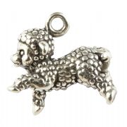 Sheep / Lamb 3D Sterling Silver Charm